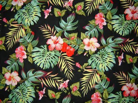 hawaiian floral pattern palm and hawaii floral print designing pinterest