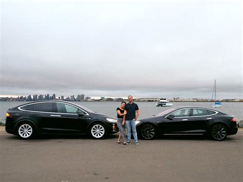 airbnb for cars a couple paid for two teslas by sharing them on the airbnb
