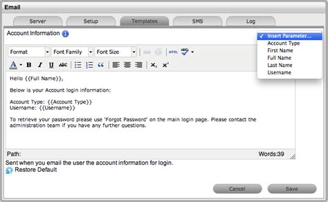 escalation email template novell doc administration guide email march 17 2014