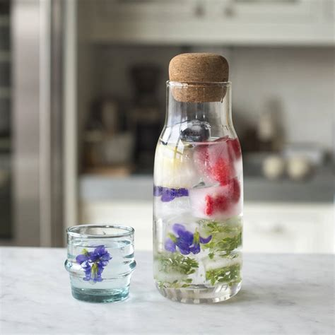 Detox Water Cubes by After Rooftop Foraging We Made These Detox Cubes