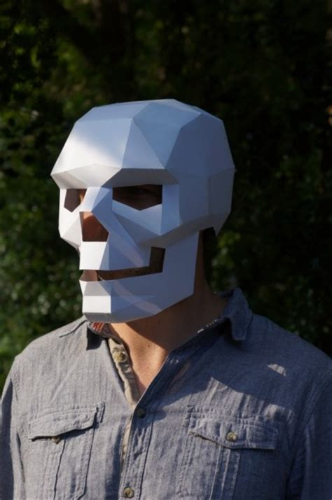 Papercraft Mask - wars other 3d papercraft masks by steve wintercroft
