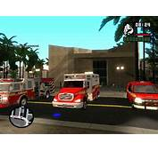 Los Santos Fire Department And Police