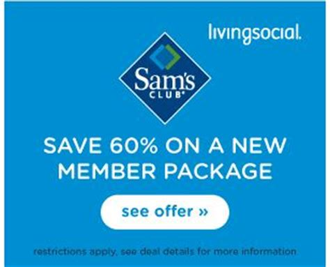 Sam S Club Gift Card Without Membership - livingsocial for 45 you ll receive a 1 year sam s club plus membership including a