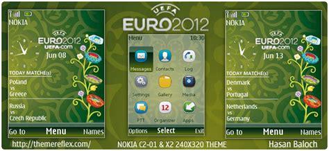 themes nokia x2 football euro cup 2012 live schedule theme for nokia x2 c2 01
