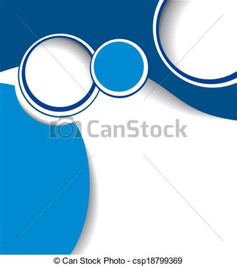 clip art vector of blue background with wave brochure