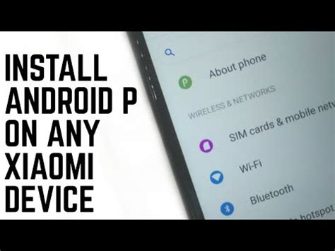 install themes on redmi 1s install android p on any xiaomi device official theme