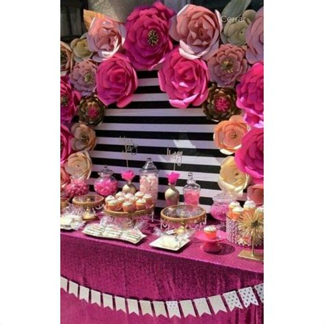 decoracion vintage para fiesta flores de papel para fiestas bautizos vintage boda 30 cm