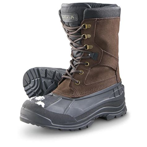 kamik s snow boots s kamik 174 wp minus 40 nationwide snow boots brown