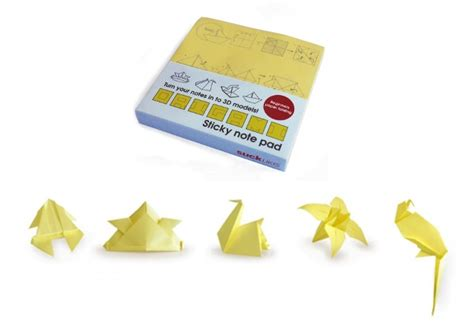 Origami Sticky Notes - 10 cool and creative sticky notes holycool net