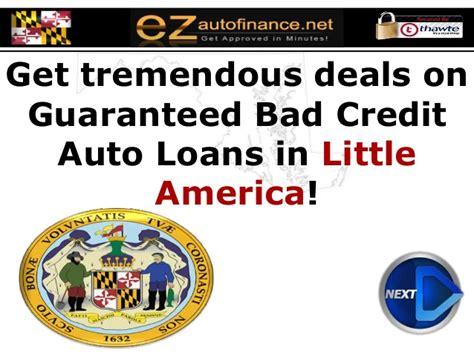 guaranteed car loans with low maryland auto loans guaranteed car financing at low
