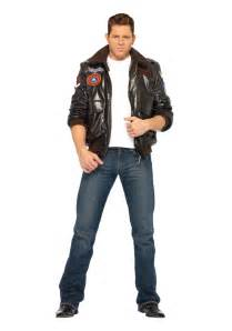 Best Guy Halloween Costumes Mens Top Gun Bomber Jacket