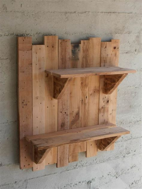 25 best ideas about pallet shelves on pinterest pallet