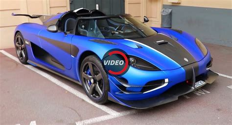 koenigsegg blue matte blue koenigsegg one 1 poses for the in monaco