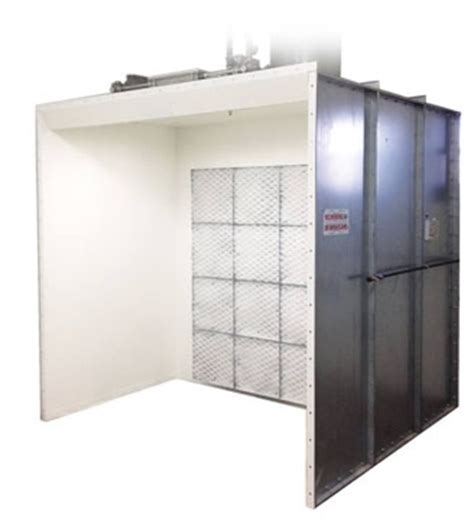 design spray booth open front booths 10 w x 7 h x 5 l