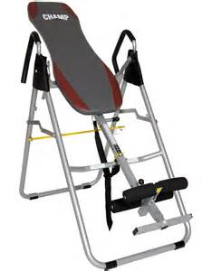 ch it8070 inversion therapy table fitness