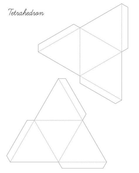 figuras geometricas tridimensionais moldes de figuras geometricas para armar e imprimir 5