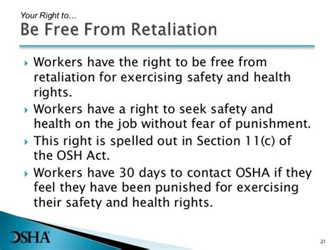 Section 11 C Of The Osha Act by Intro To Osha Pptx With New Sds