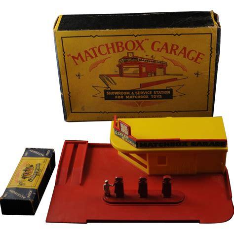 matchbox garage vintage lesney matchbox garage service station mg 1 and