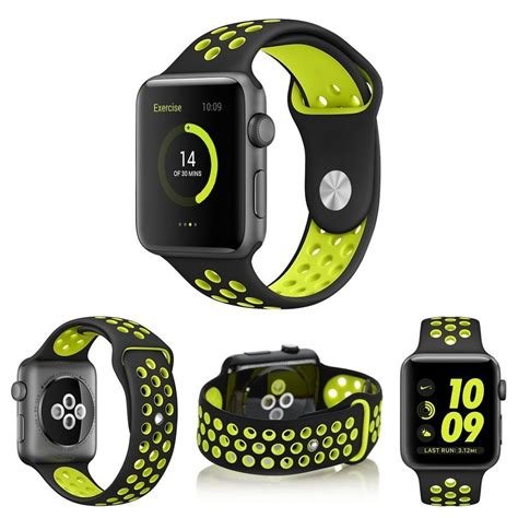 Apple Iwatch Series2 Nike 38mm silicone sport band for apple iwatch series 1