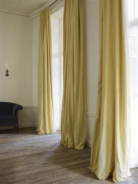 yellow silk curtains 245 best images about drapes and drapery on pinterest