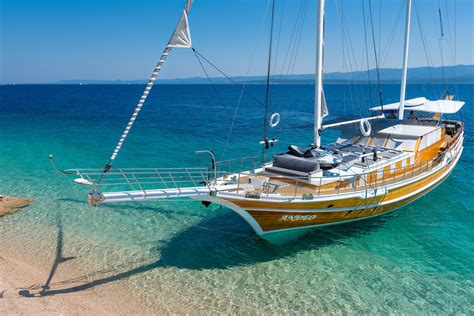 catamaran party boat bodrum andeo yacht charter details luxury croatian gulet