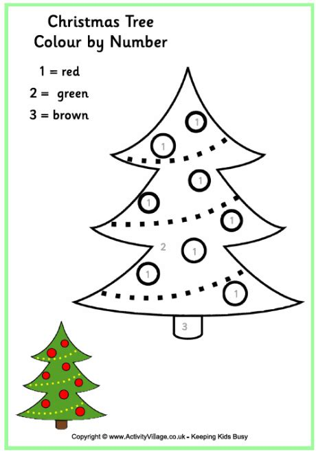 search results for christmas tree outline for colouring