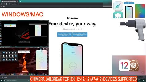 chimera jailbreak for ios 12 12 1 2 iphone xr xs xs max device