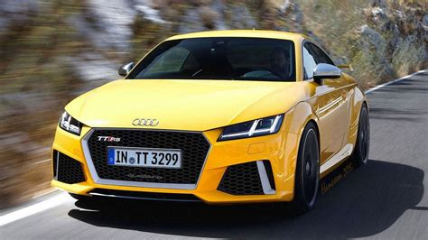Audi Tt Rs Hp by Audi Tt Rs To 395 Hp From Five Cylinder 2 5 Liter Turbo