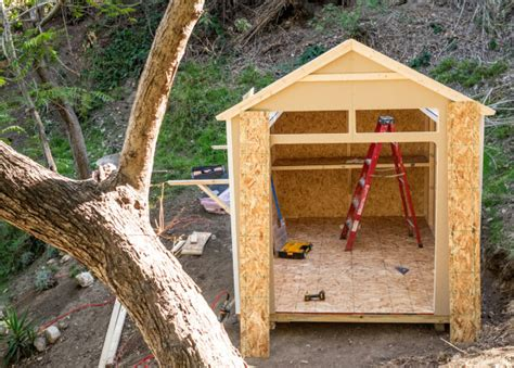 the tiny tool shed backyard escape project design milk the tiny tool shed backyard escape project design milk