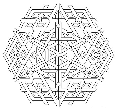 coloring pages geometric shapes free printable geometric coloring pages for kids