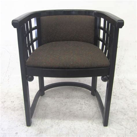 barrel back dining chair barrel back dining chairs by josef hoffmann set of four