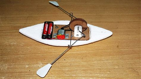 How To Make Handmade Toys - how to make a rowing boat diy boat