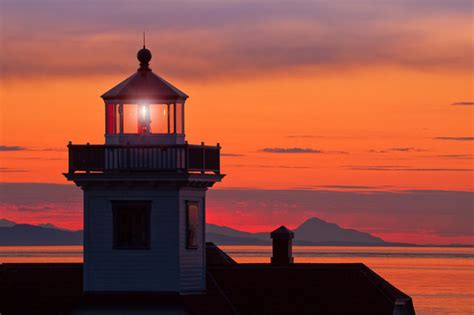 light house at lighthouse at sunset gallery