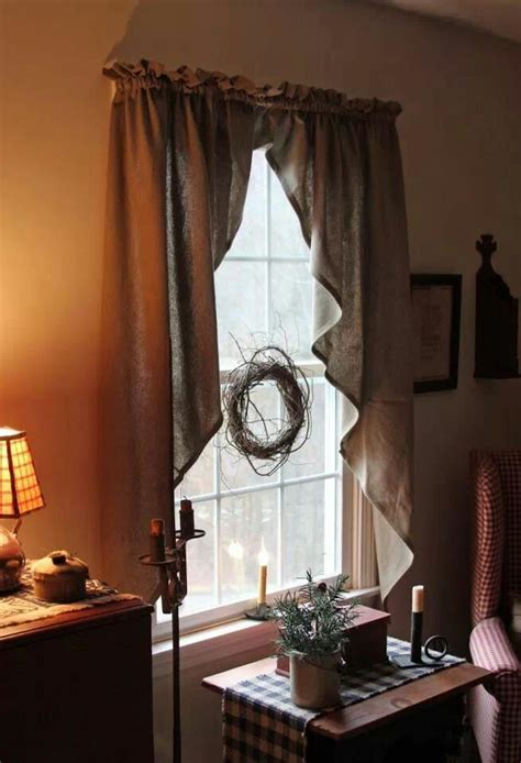 primitive curtains for living room 458 best images about keeping rooms on pinterest country