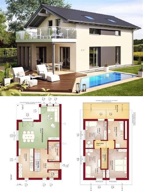 einfamilienhaus modern mit satteldach architektur