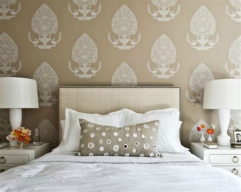 Wallpaper Headboards by 30 Best Diy Wallpaper Designs For Bedrooms Uk 2015