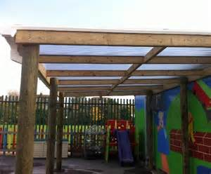 Roof Awning Design Timber Frame Canopy With Polycarbonate Roof Massey