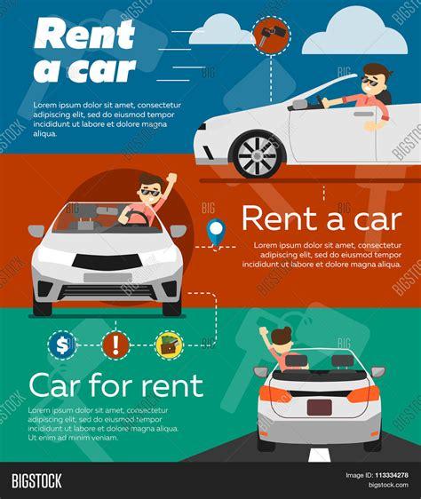 Rent Lease Or Buy Car Rent Car Banner Car Rent Banner Vector Photo Bigstock