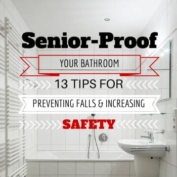 bathroom safety tips bathroom safety for seniors reducing best free home