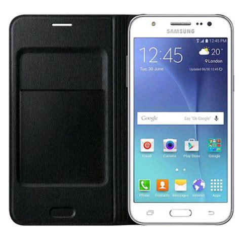 official samsung galaxy j5 2015 flip wallet cover black