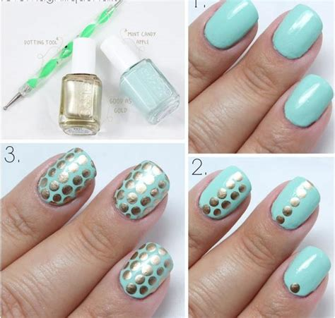 Nagel Tutorial by 20 Easy Winter Nail Tutorials Nail Design Ideaz