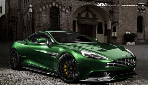 green aston martin aston martin am 310 vanquish on adv 1 wheels autoevolution