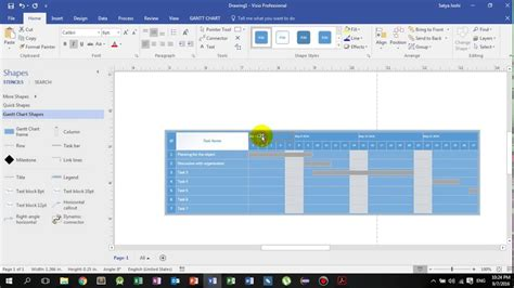 using visio how to draw gantt chart in visio gantt chart software to