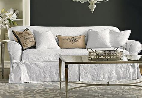 sure fit white sofa slipcover 19 best sure fit collection images on pinterest