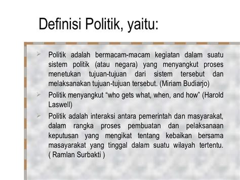 Pengantar Analisa Politik pertm 1 2 pengantar ilmu politik 1 poel