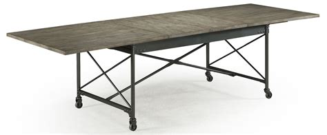 Dining Table With Casters Walton Rectangular Dining Table With Casters From Magnussen Home D2469 20 Coleman Furniture