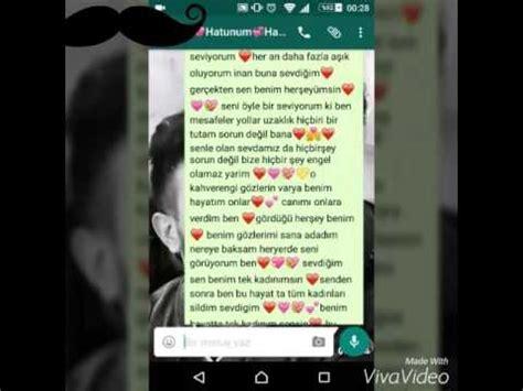 sevgiliye yazılan en uzun mesaj youtube