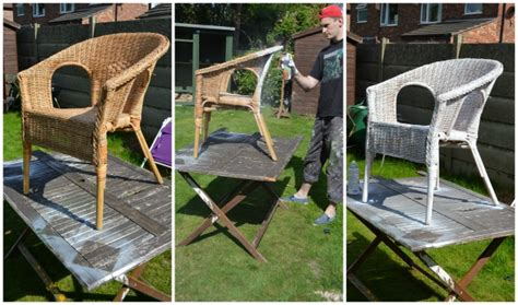 spray paint wicker furniture 60 minute makeover spray painting our nursery wicker