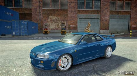 nissan skyline fast and furious 4 nissan skyline gt r r34 quot fast and furious 4 q