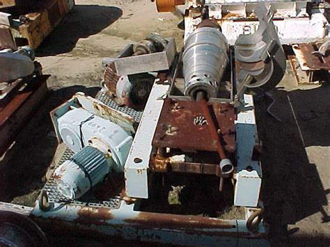Lava L Parts by Used Alfa Laval Nx414 30hp Centrifuge Parts